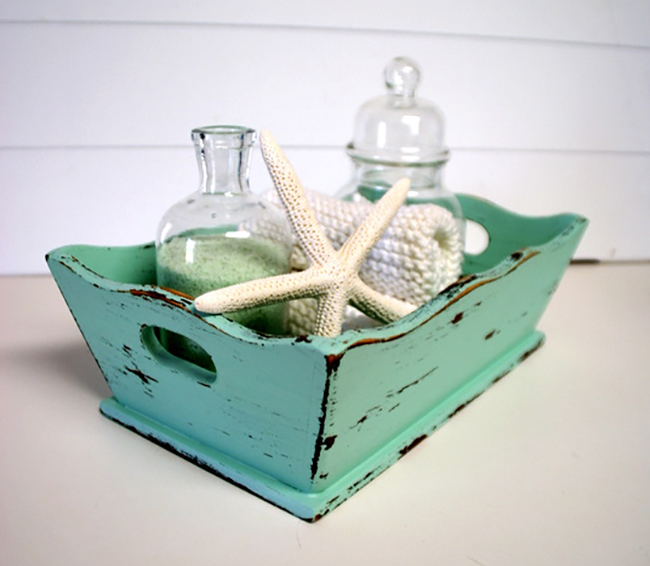Nautical Bath Tray