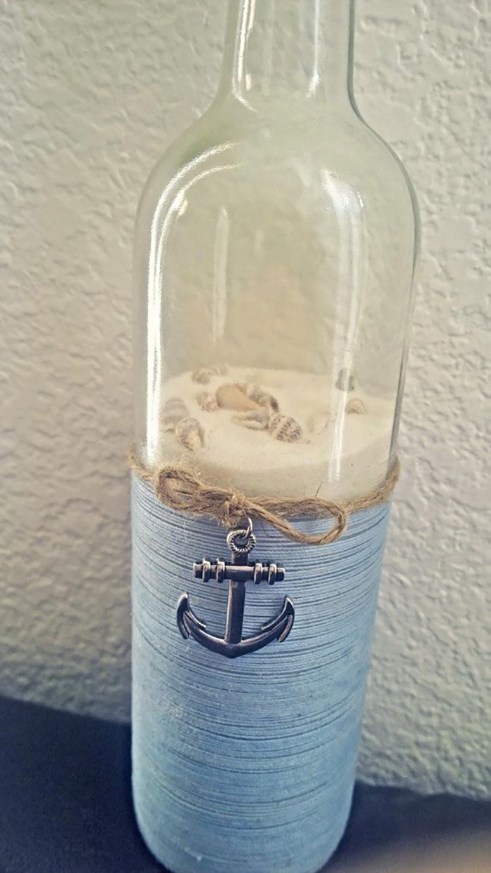25 best nautical bathroom ideas and designs for 2017 for Bathroom bottles