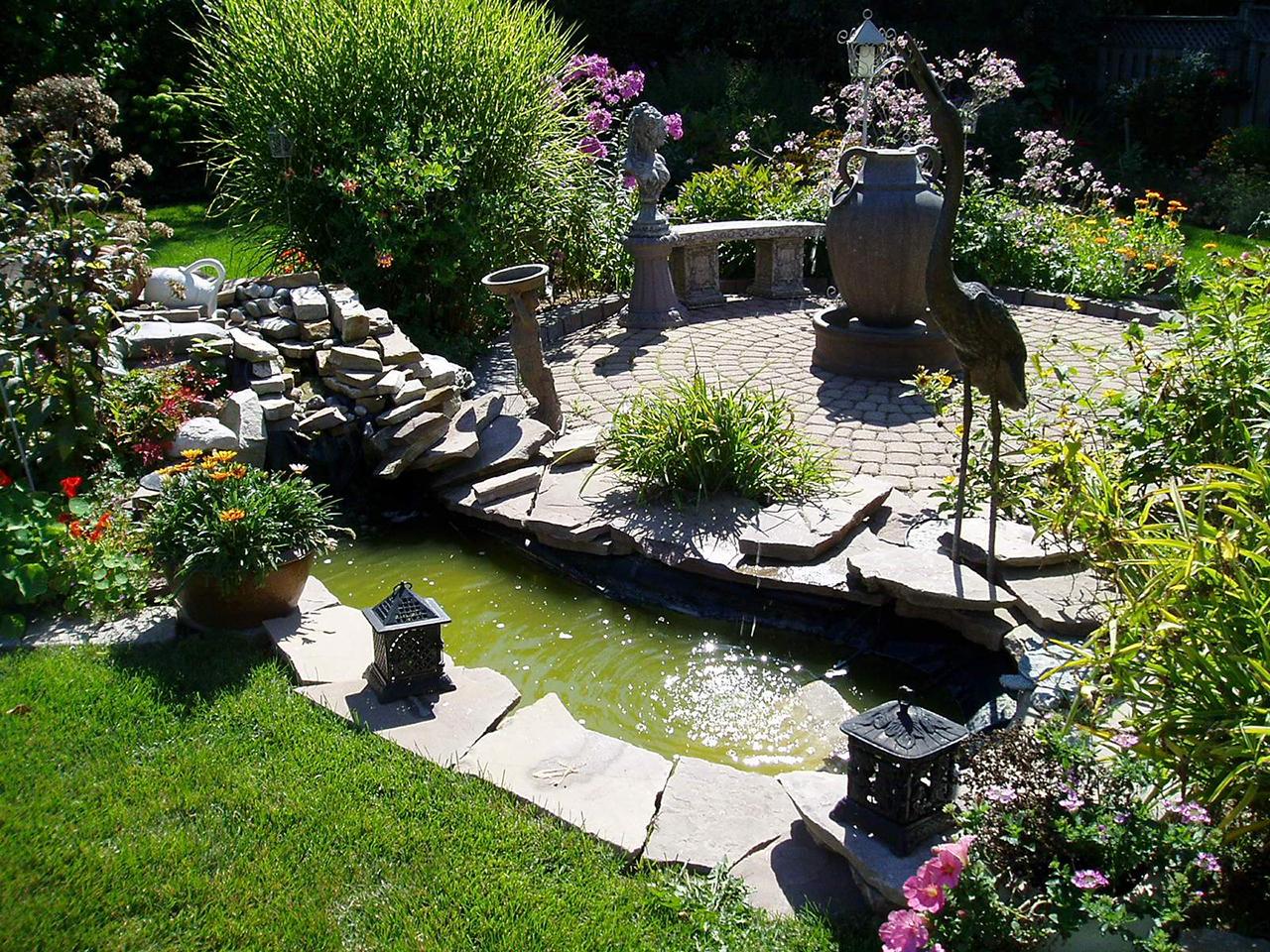 amazing small landscape #BackyardLandscapingIdeas #Garden #GardenIdeas