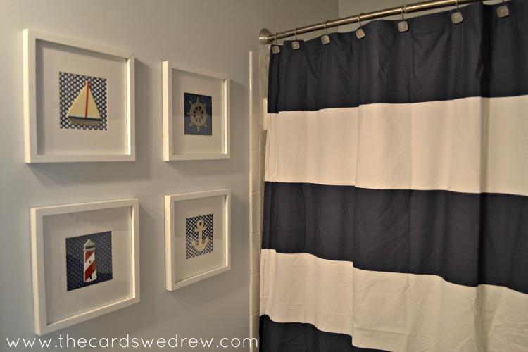 Cool Nautical Bathroom D Cor On A Budget