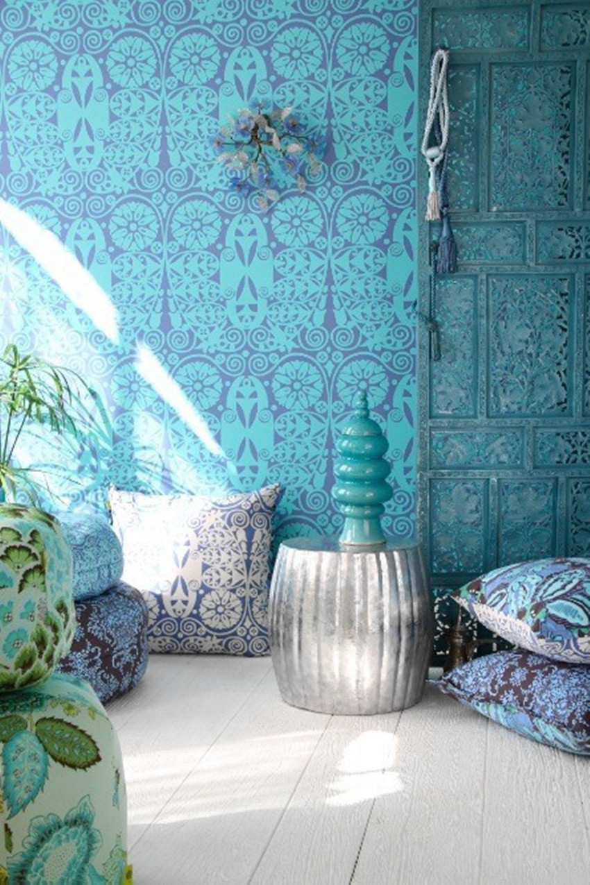 50 best meditation room ideas that will improve your life for Room wallpaper india