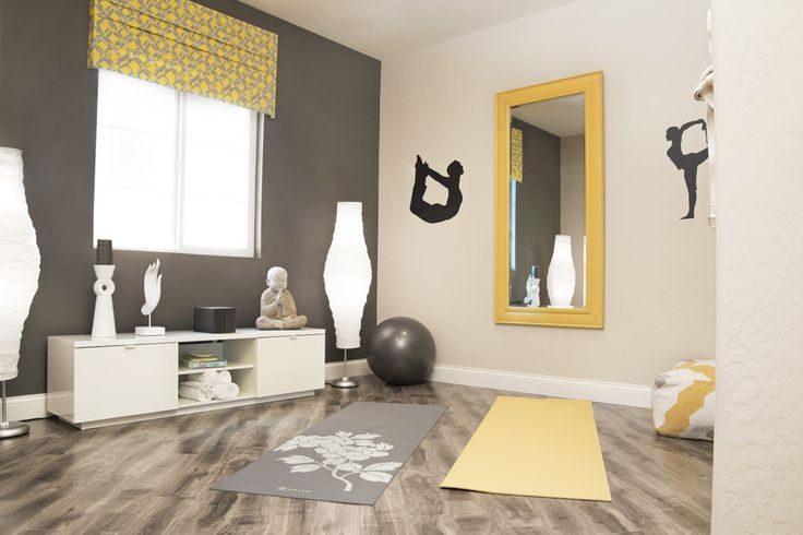 Zen space 20 beautiful meditation room design ideas for Living room yoga