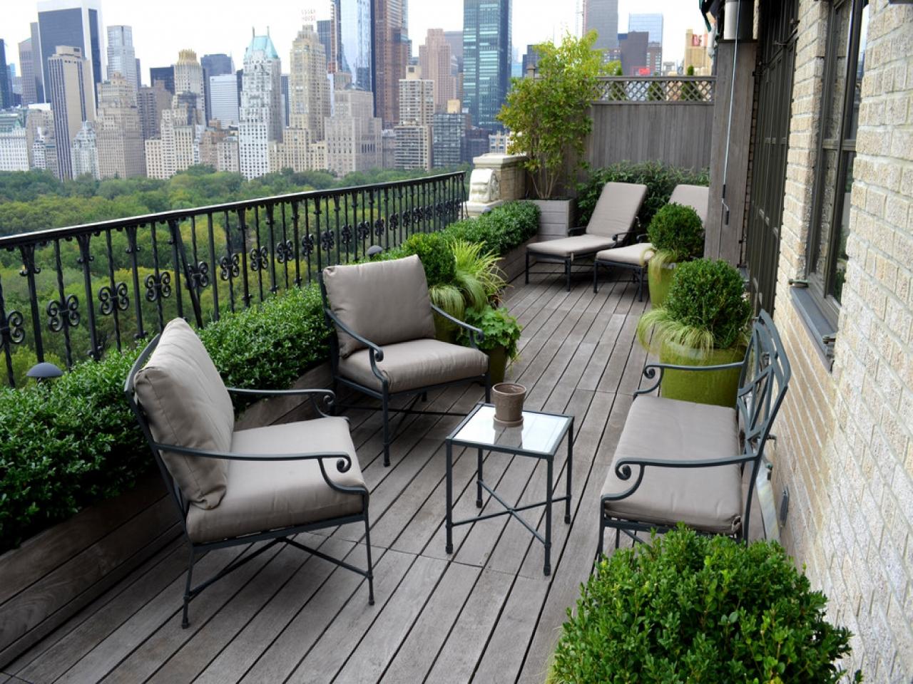 40 вариантов изготовления и дизайна пола на балконе!- ihouzz.