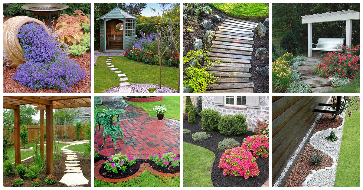 50 best backyard landscaping ideas and designs in 2018 for Small patio landscaping