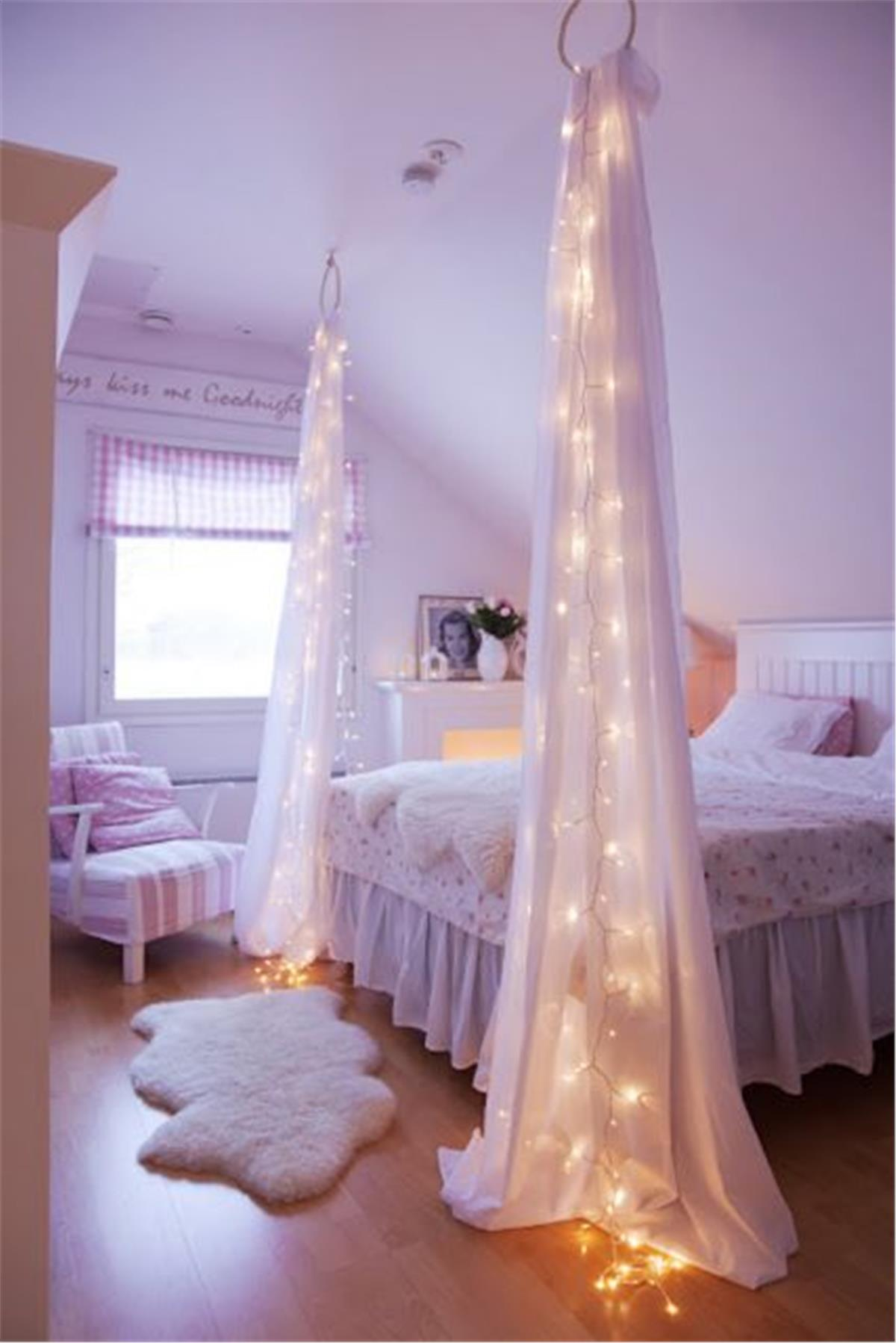 1  Fairy Drapes 50 Stunning Ideas for a Teen Girl s Bedroom 2018