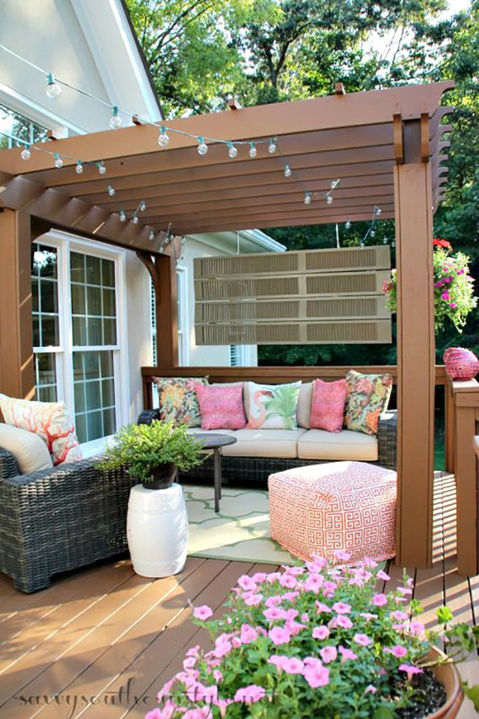 Backyard Theater Seating Ideas : 25 Dazzling DIY Patio Decoration Ideas to Create Your Getaway Spot