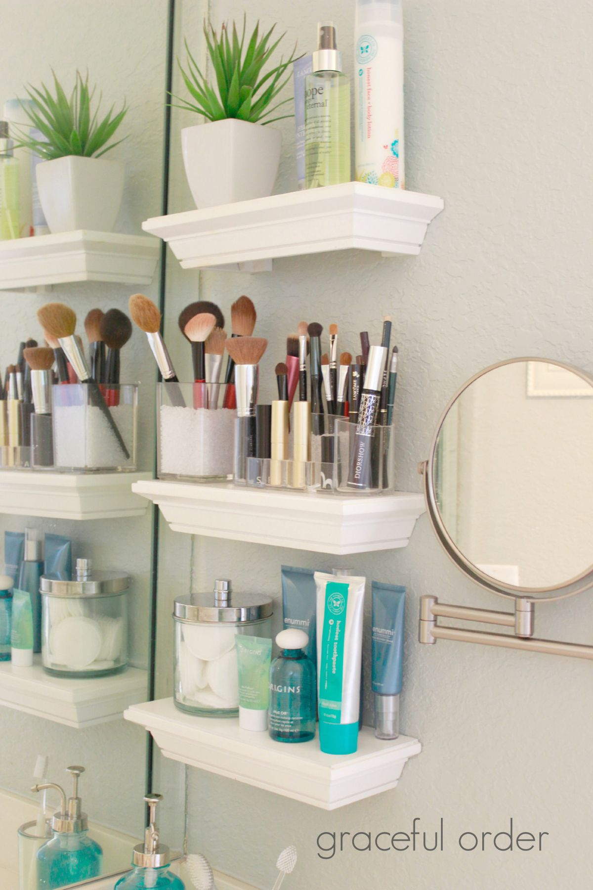 Makeup Storage Ideas Bathroom - Small bathroom makeup storage ideas