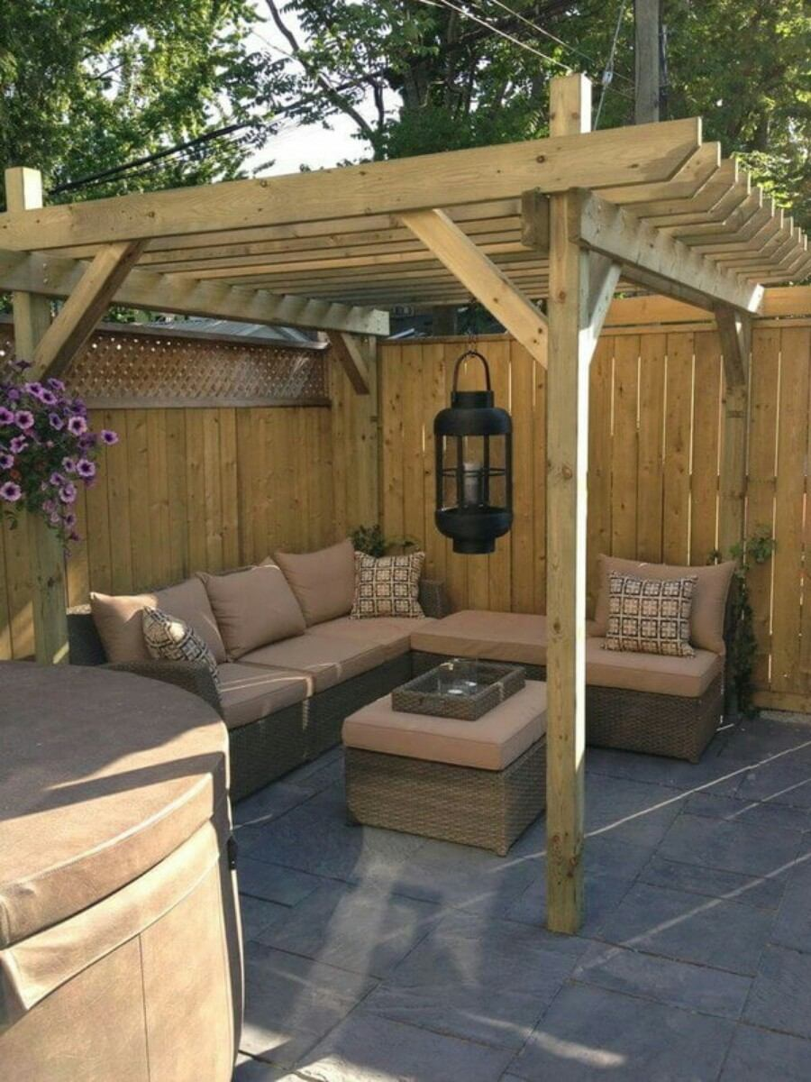Backyard Landscape: 16 Amazing DIY Patio Decoration Ideas ... on Basic Patio Ideas id=65438