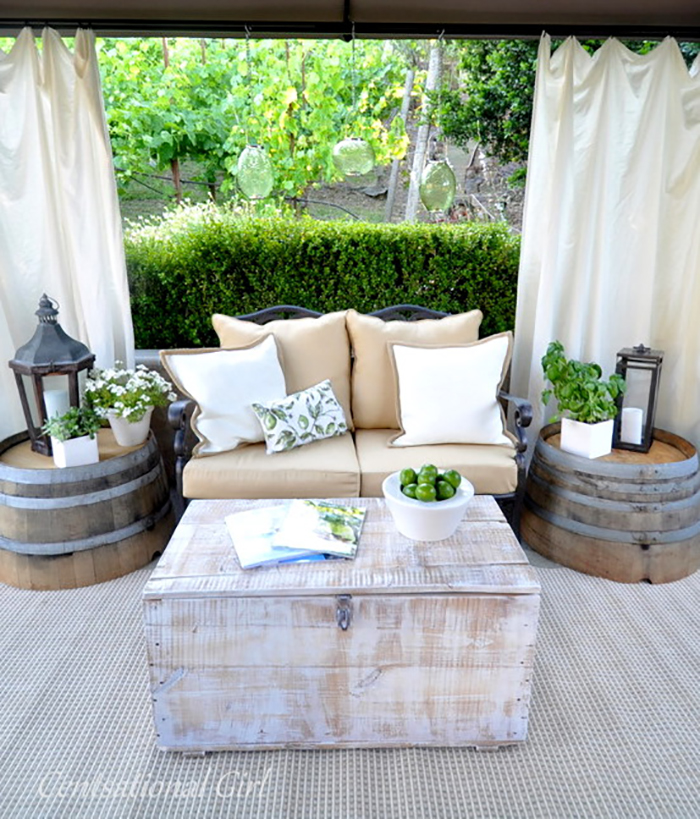 Backyard Landscape: 16 Amazing DIY Patio Decoration Ideas