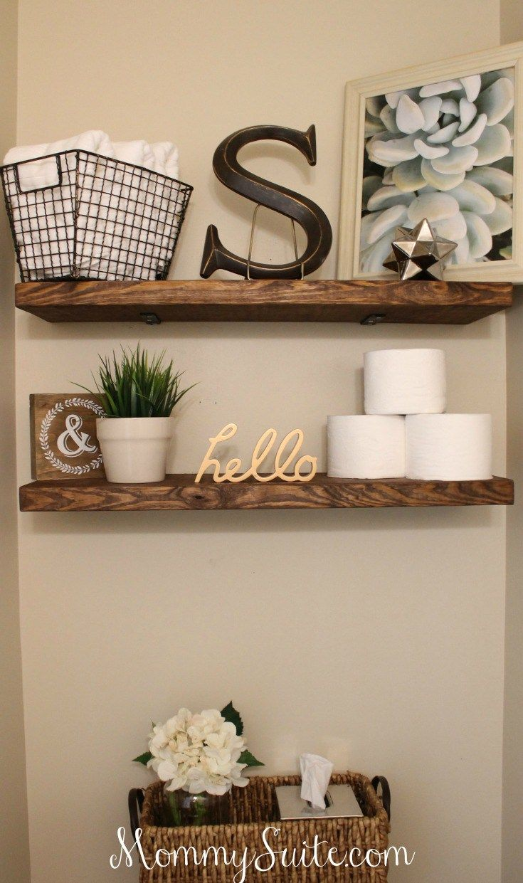 15. Personalized Shelf Design To Complete Any Theme