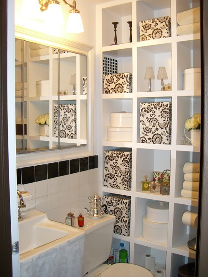 Best Bathroom Storage Ideas And Designs For - Bathroom racks and shelves for small bathroom ideas