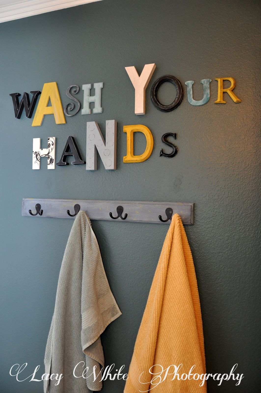Bathroom Lettering Decor : Best bathroom decor ideas and designs for