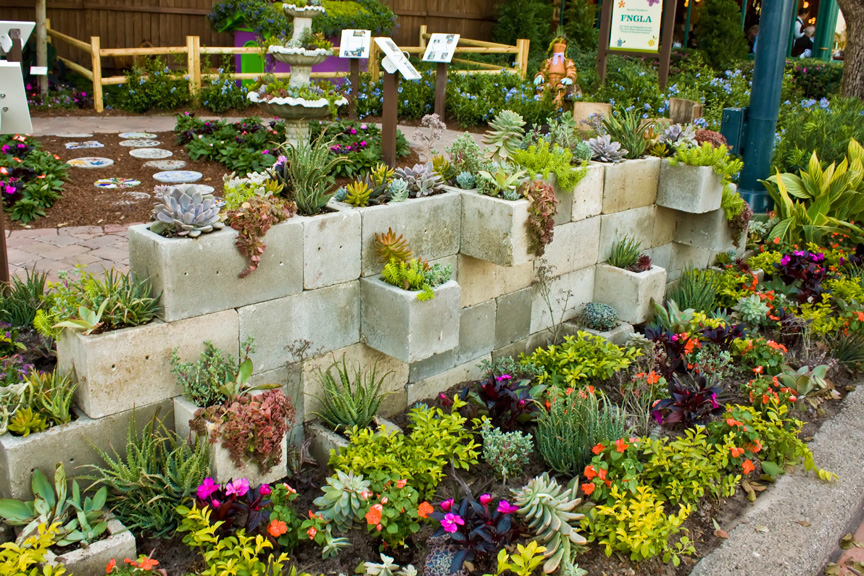23 cinder cinder on the wall - Garden Ideas 2017