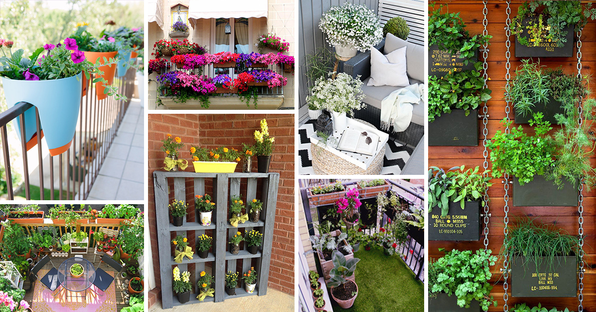 50 best balcony garden ideas and designs for 2017 for In your garden designs
