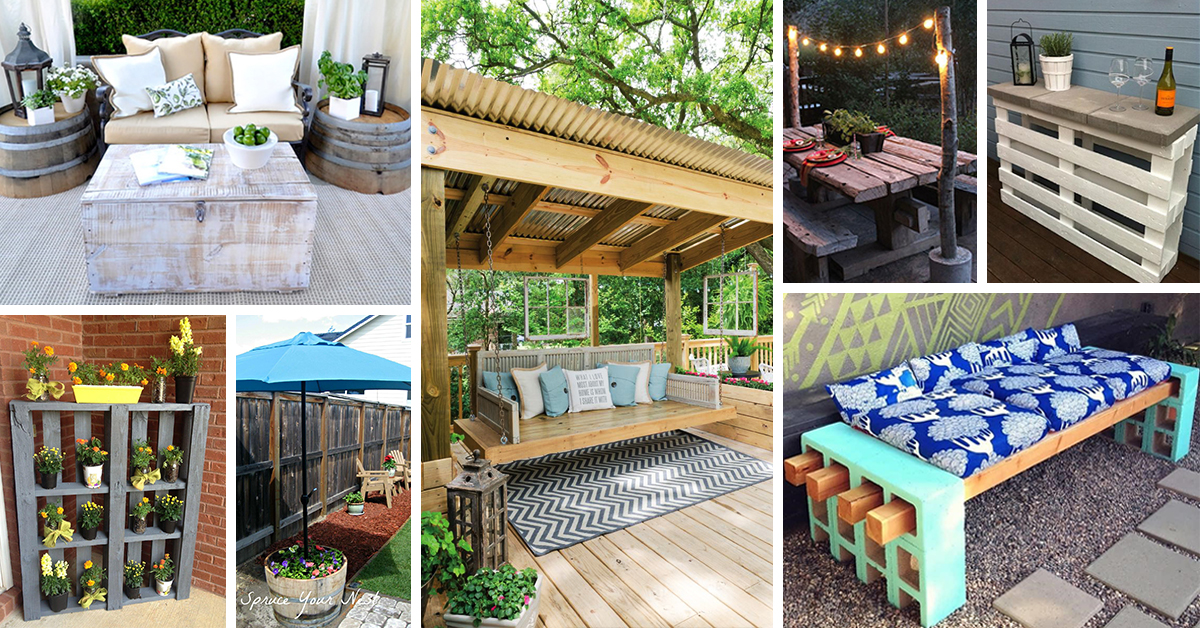 Do It Yourself Home Decorating Ideas: 25 Best DIY Patio Decoration Ideas And Designs For 2017