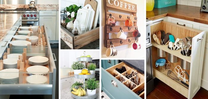 Cheap Kitchen Organizing Ideas - Easy Craft Ideas