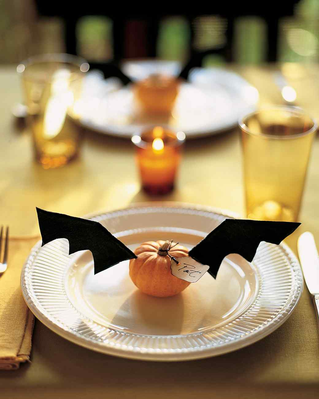 1 flying pumpkins - Halloween Table Decoration