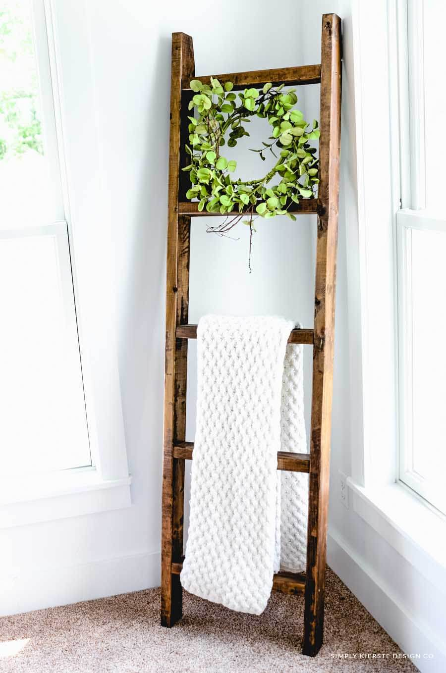 Old and Weathered Ladder Rack