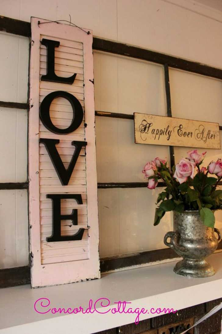 Diy Shabby : 37 Amazing DIY Shabby Chic Decoration Ideas You Won't Want to Live ...