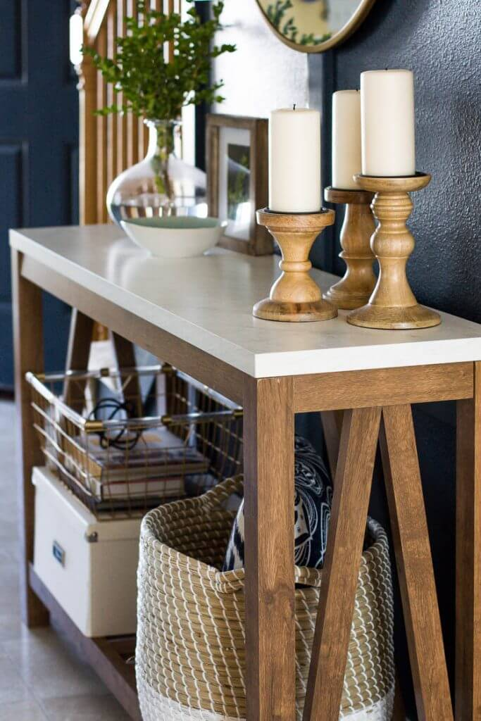 Long and Lean Entryway Side Table