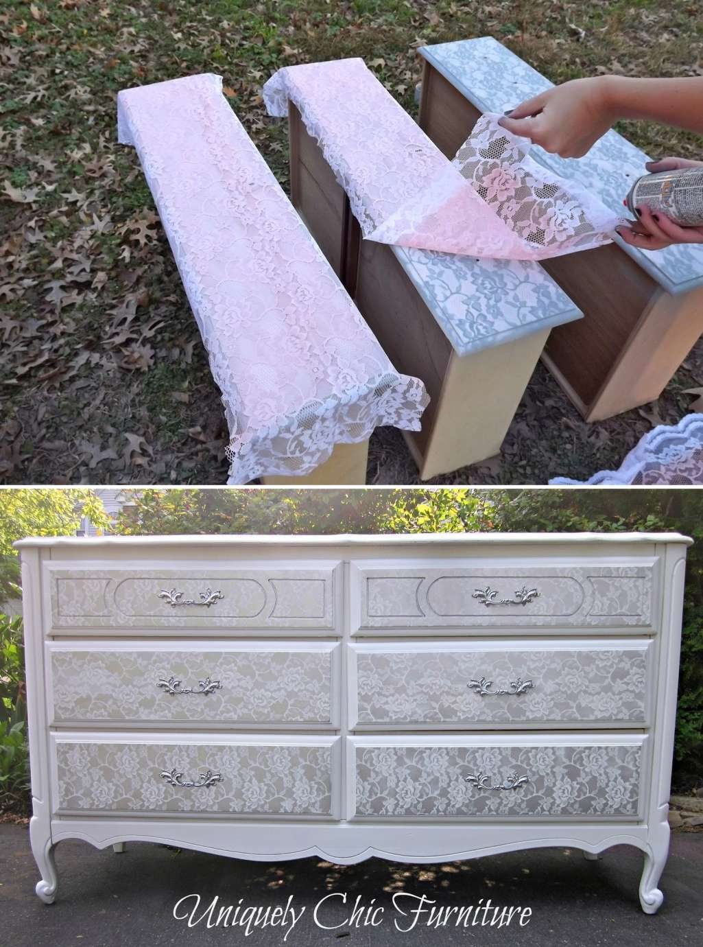 Dress Up the Lace Dresser