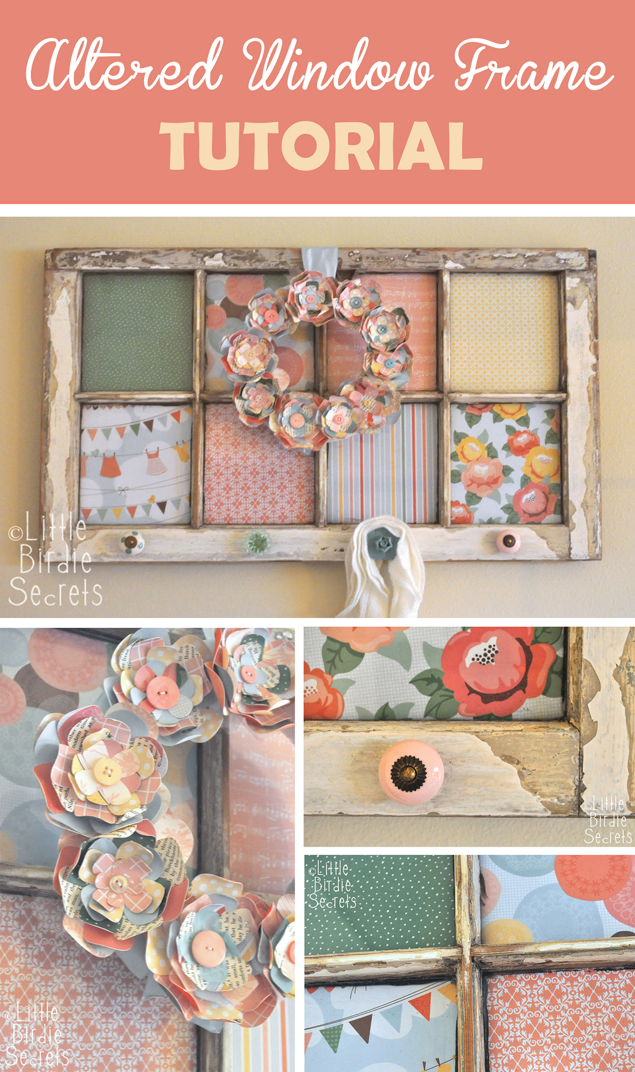 37 best diy shabby chic decoration ideas and designs for 2017 for Shabby chic frames diy