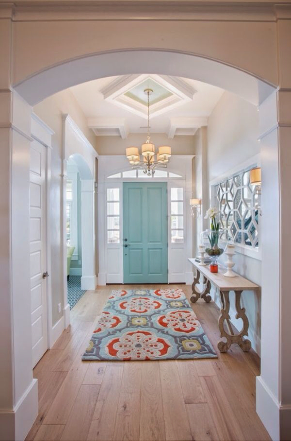 Bright Foyer Colors : Best rustic entryway decorating ideas and designs for