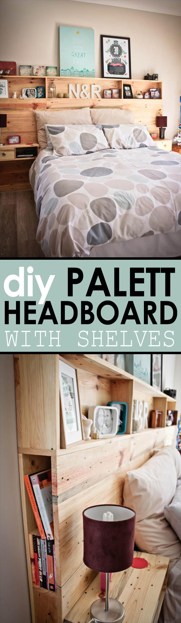 9. Shelfing Smart With Pallets