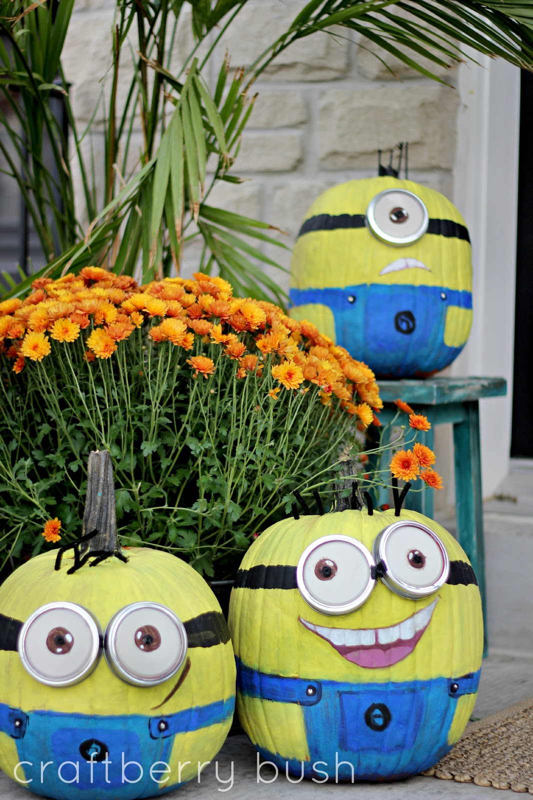halloween minions pumpkin style - Decorated Halloween Pumpkins