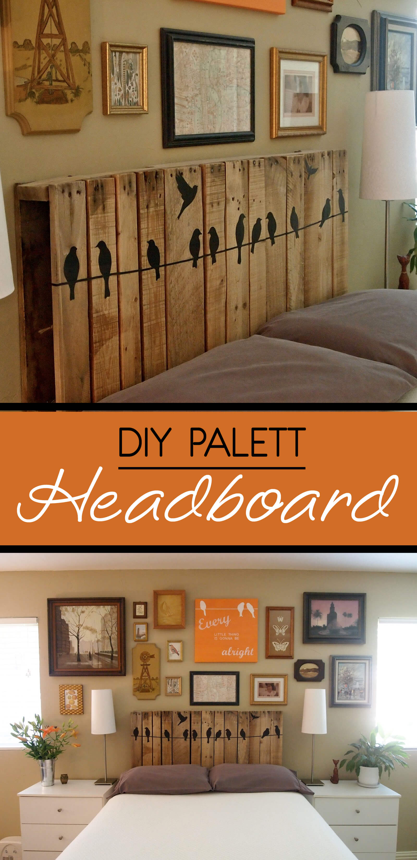 Pallet Headboards Always Soar