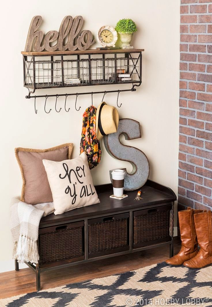 Add Storage Space with Wire Baskets