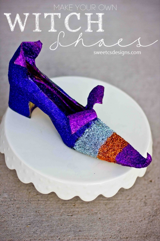 Witch Shoes Can Be Colorful