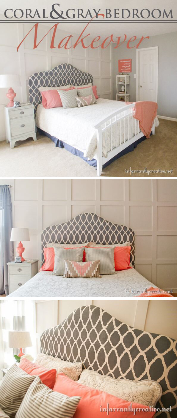 I-Can't-Tell-It's-Painted DIY Headboard