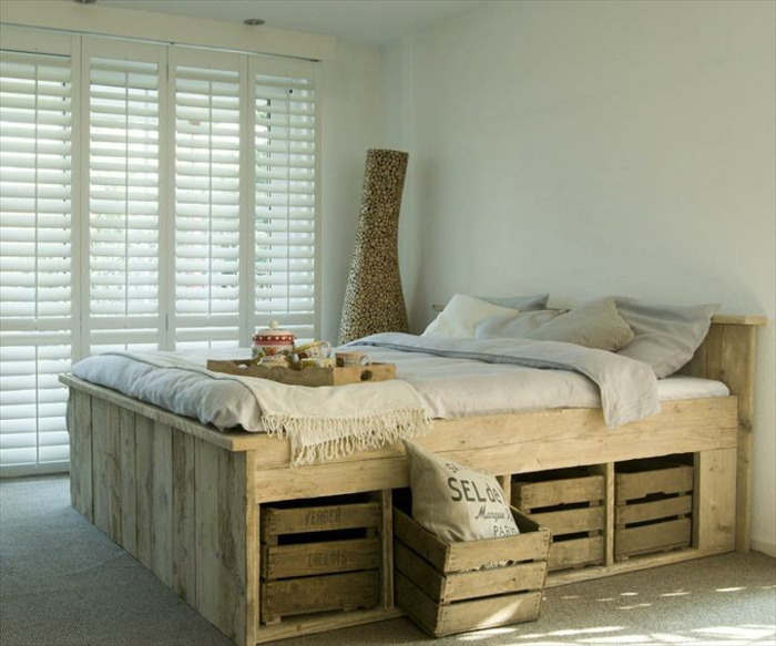 Re-imagine Bedroom Storage with Crates