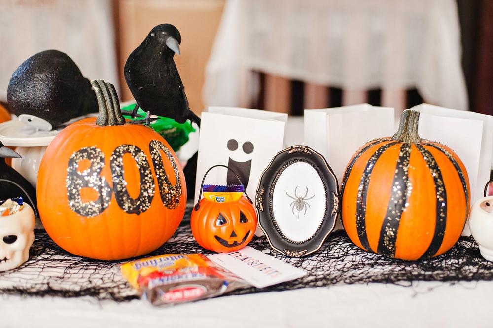 halloween modge podge - Halloween Table Decorations
