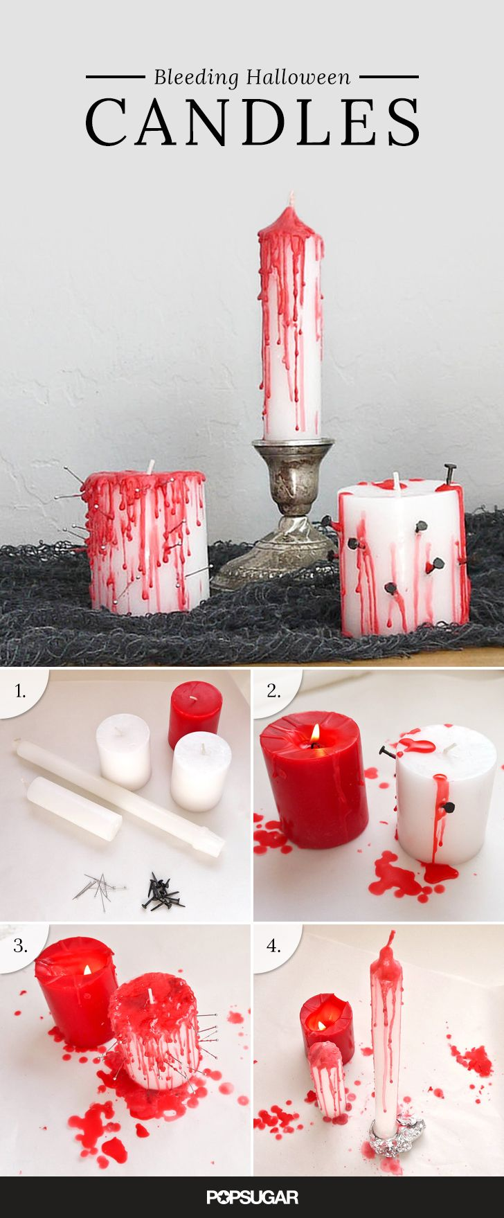 Bloody Candles Without The Gore