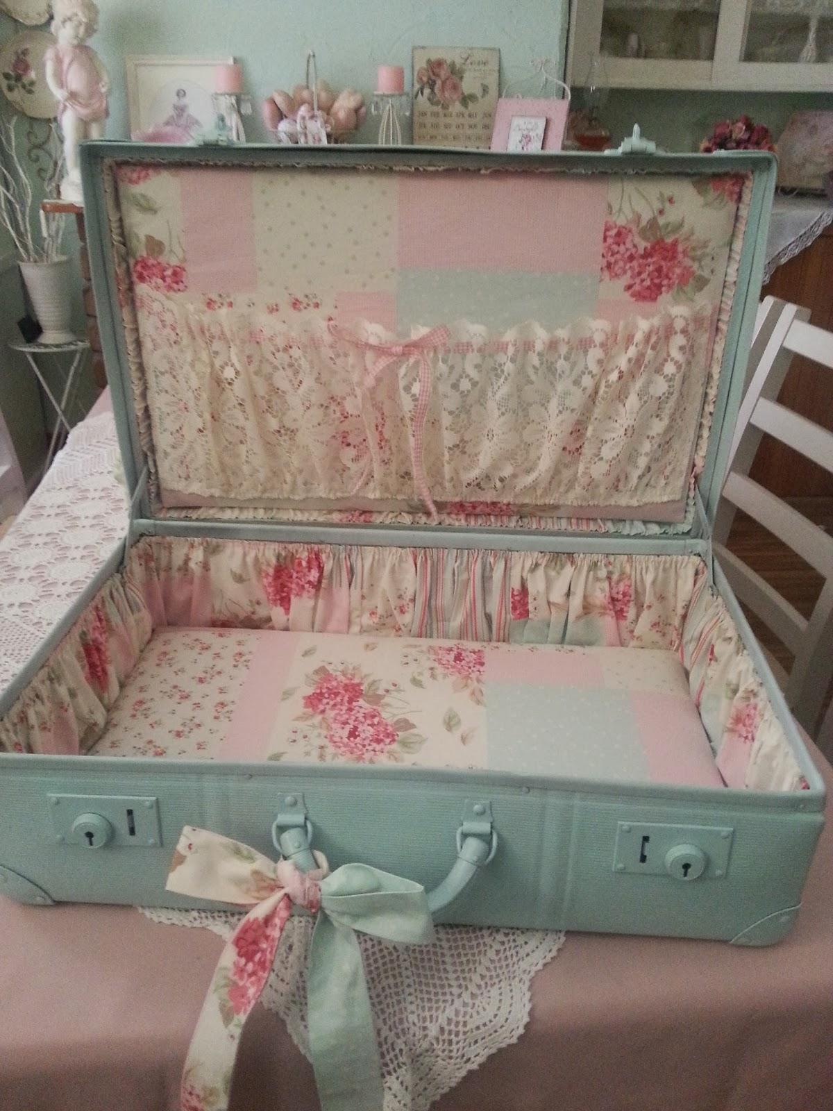 Reline Your Luggage with Shabby