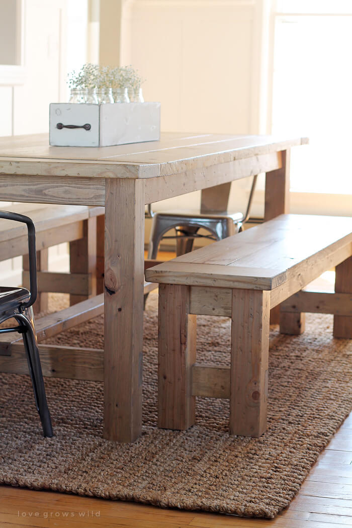 Picnic Tables in Dining Rooms? Absolutely!