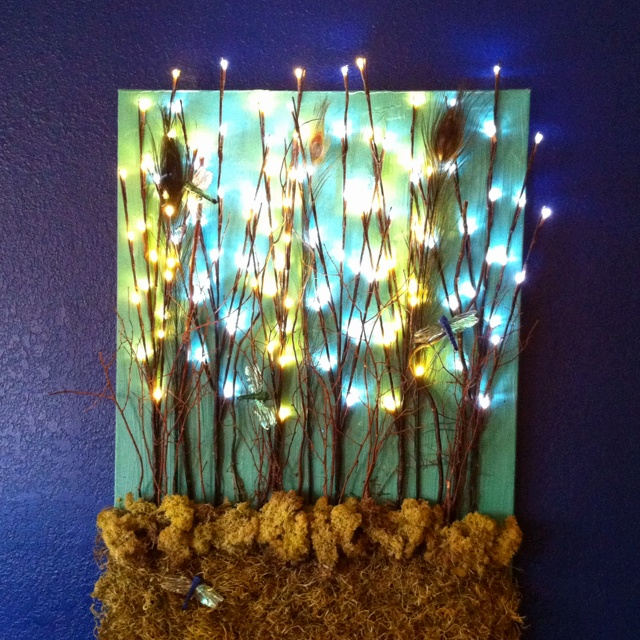 Recreate Nature with String Lights Decorations