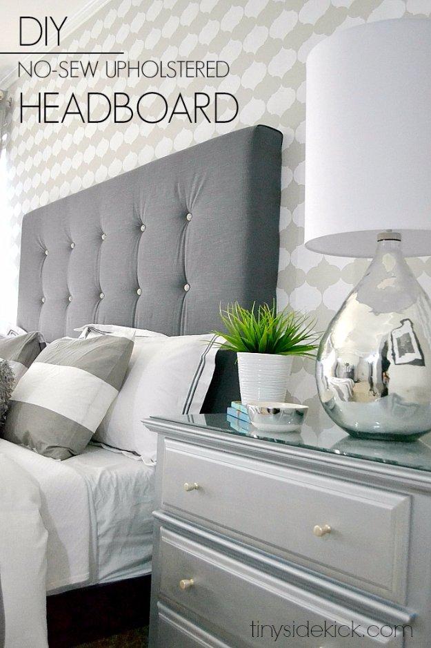 Say No to Sew Headboard