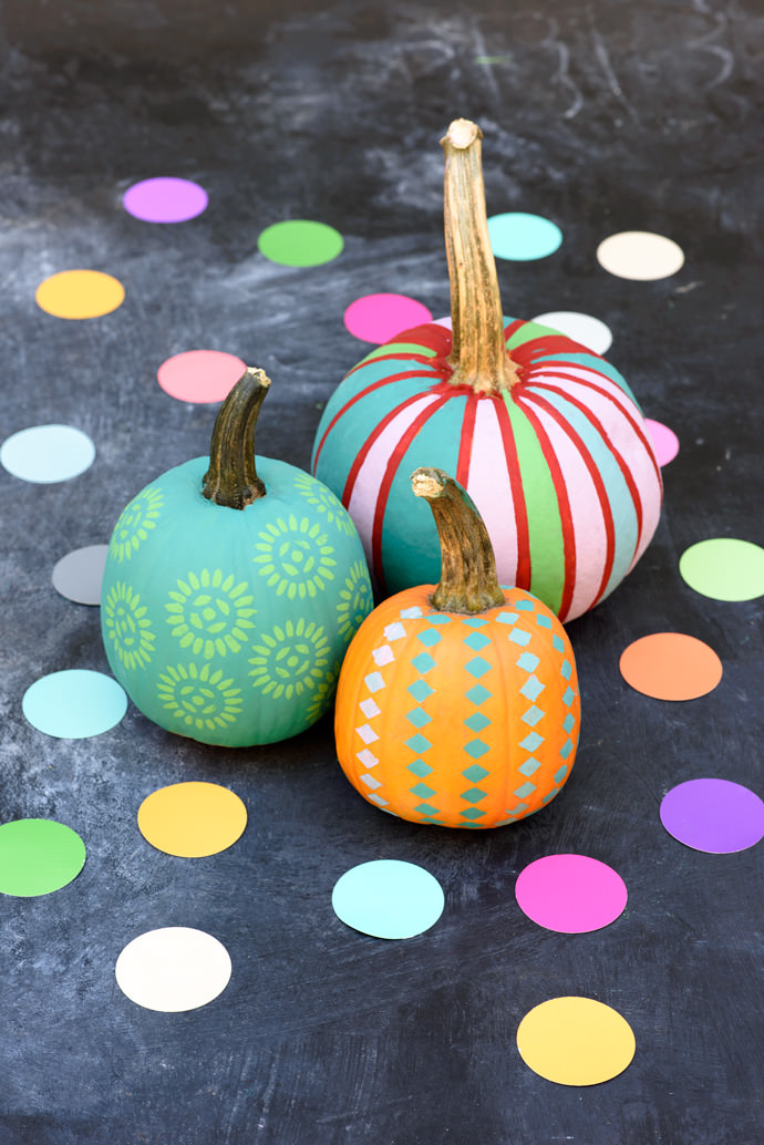 The 50 best pumpkin decoration and carving ideas for Easy pumpkin painting patterns