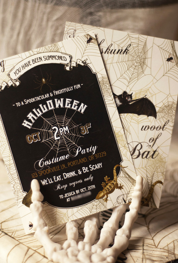 50 Best Halloween Party Decoration Ideas for 2017 – Creative Halloween Party Invitations