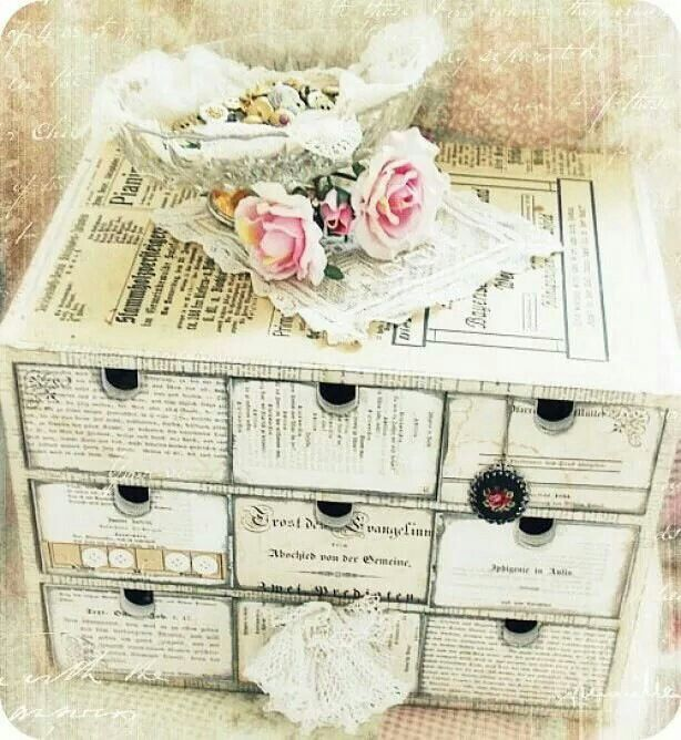 Diy Shabby : DIY Shabby Chic Decor and Storage