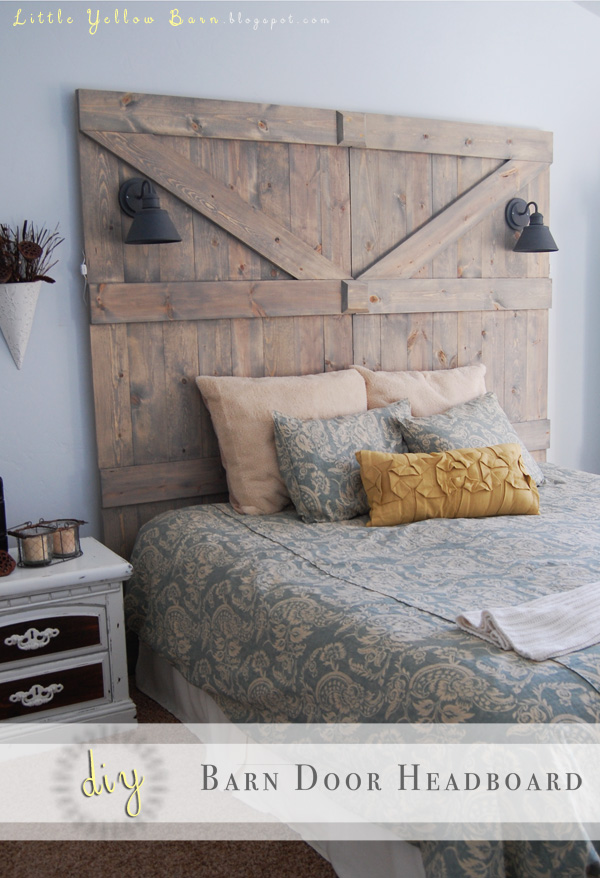 The 47 best diy headboard ideas for 2017 for Design your own barn