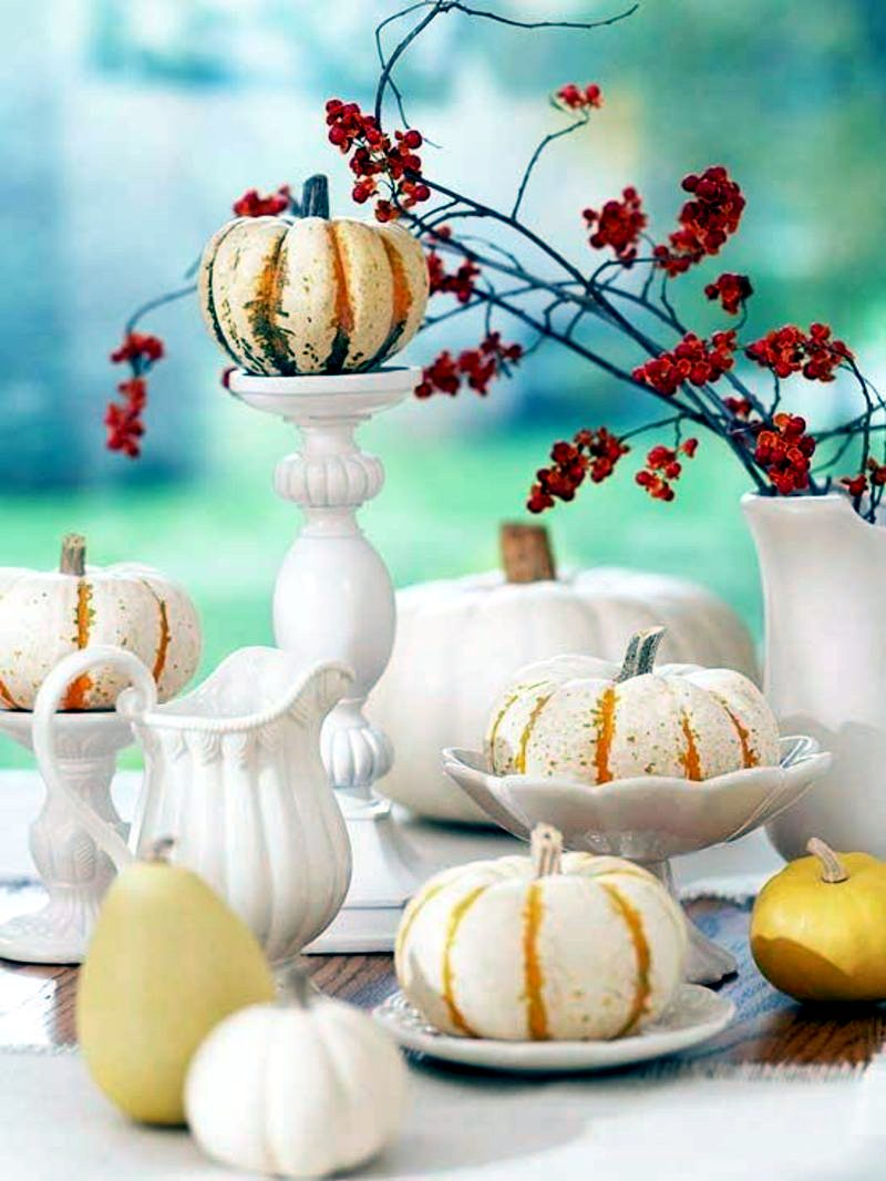 38 simply fall - Halloween Table Decorating Ideas