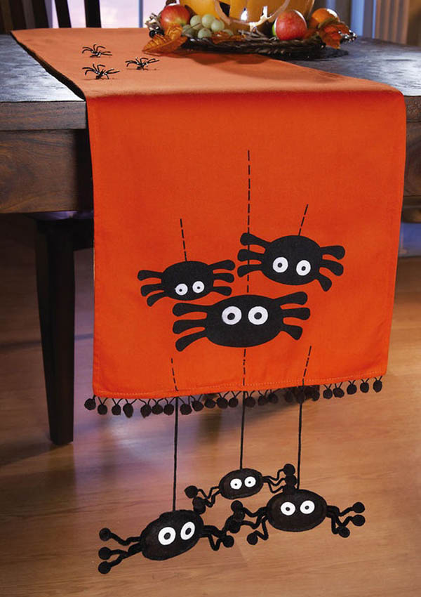 47 cute spiders - Halloween Table Decorations