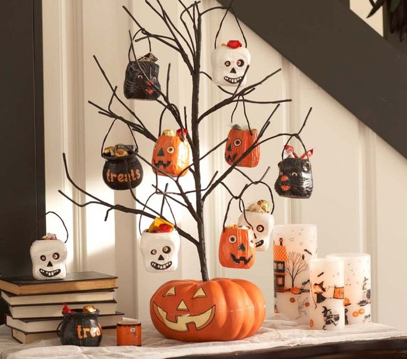 49 treat tree - Halloween Table Decoration
