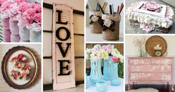 DIY Shabby Chic Decoration Ideas
