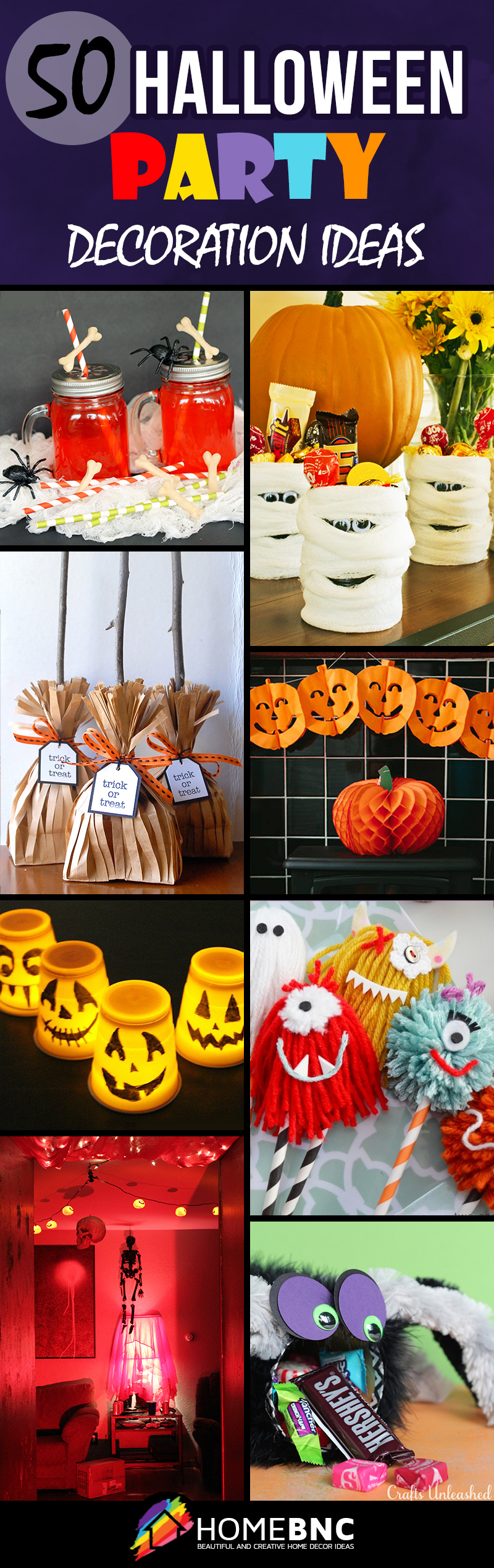 Halloween party decoration ideas to make - Halloween Party Decorations