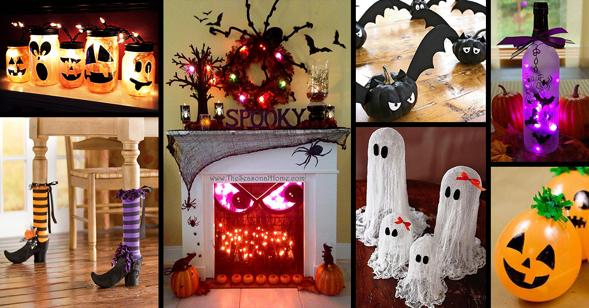 50 best indoor halloween decoration ideas for 2017 - Halloween Decorations Idea